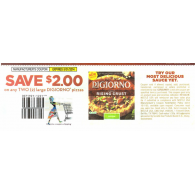 Digiorno large pizzas x5/31 (save $2 off 2)