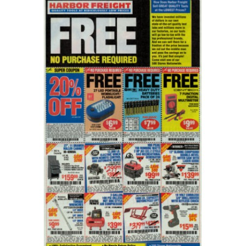 Harbor freight free multimeter coupon code : Shutterfly