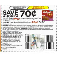 Kellogg's To Go Morning Biscuits 5ct x5/4 (save $.70 off 1)