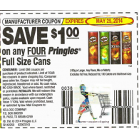 pringles full size cans x5/25 (save $1 off 4)