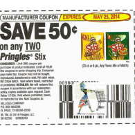 Pringles stix x5/25 (save $.50 off 2)