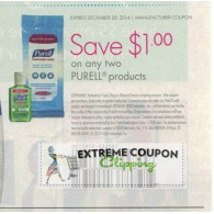 Purell $1/2 any size products (12/28)