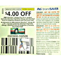 Vicks $4/1 qlearquil allergy 30 or 45ct excludes nighttime allergy and sinus & congestion