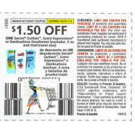 Secret Outlast, Scent Expressions, or Destinations Deodorant x5/31 (save $1.50)