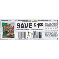 Tyson $1/1 Grilled & Ready frozen product (12/21)