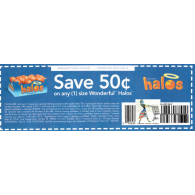Wonderful Halos x2/8 (save $.50 off 1) dnd