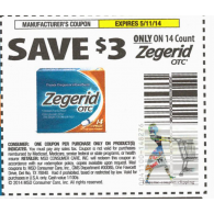 Zegerid OTC 14ct x5/11 (save $3 off 1)