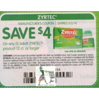zyrtec adult product 12ct or larger x5/2 (save $4 off 1)
